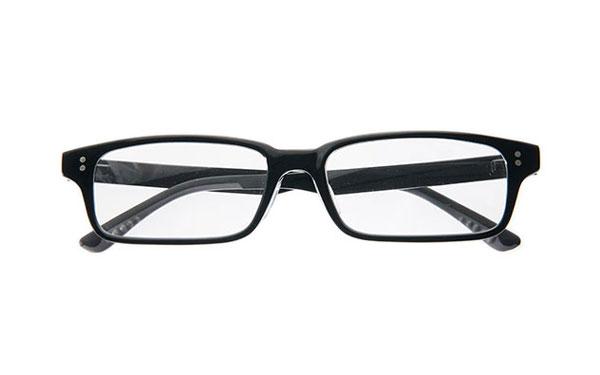OWNDAYS Slim(オンデーズ スリム) OB2018 カラー:C1:ブラック 価格:8,980円(レンズ込み、薄型レンズの追加料金0円、税込) image by OWNDAYS
