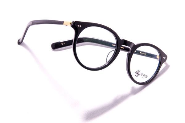 河和田(かわだ) 「星くず-03」カラー:1 ブラックのフレームとゴールドのヨロイがベストマッチ。 【クリックして拡大】