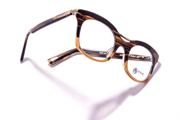 河和田(かわだ) 「夕暮れ-07」カラー:3 ブラウン系のグラデーションカラーが 大人っぽい雰囲気でカッコいい。 【クリックして拡大】