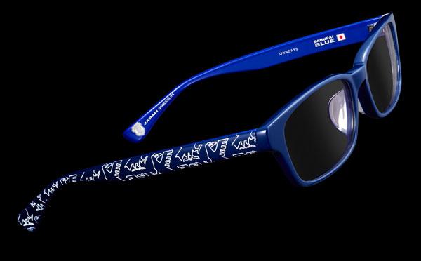 OWNDAYS(オンデーズ) 「SAMURAI BLUE model(サムライ ブルー モデル)」 メガネフレーム image by OWNDAYS 【クリックして拡大】