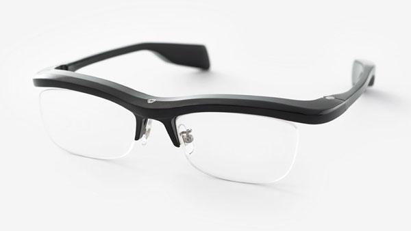 メガネ型情報端末「雰囲気メガネ」