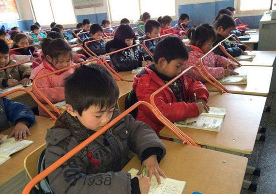 How It Is Done in Chinese Schools (9 pics) - Izismile.com