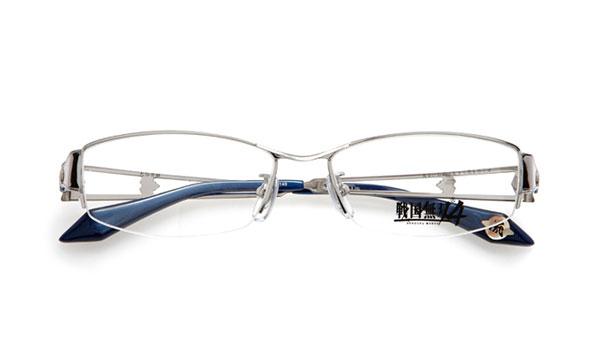 眼鏡市場 × 戦国無双4 大谷吉継モデル 価格:15,000円(レンズ代込み、税抜) 「友よ、お前は生きて忠を尽くせ」 というセリフが、テンプル(つる)内側に見える
