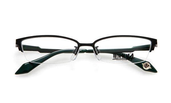 眼鏡市場 × 戦国無双4 片倉小十郎モデル 価格:15,000円(レンズ代込み、税抜) スッキリシャープなデザインで普段使いしやすそう。