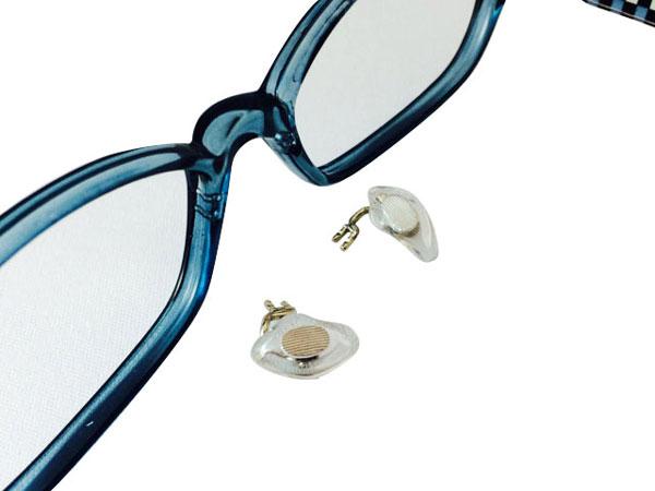 クリングス(金属製の鼻あて)が折れてしまったメガネフレーム。 image by エヌ・ティ・コーポレーション 【クリックして拡大】