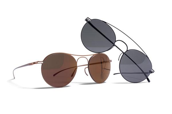 MYKITA(マイキータ)× Maison Martin Margiela(メゾン マルタン マルジェラ)「ESSENTIAL(エッセンシャル)」(左)MMESSE005 Copper(右)MMESSE006 Black 【クリックして拡大】