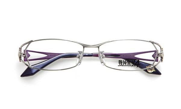 眼鏡市場 × 戦国無双4 服部半蔵モデル 価格:15,000円(レンズ代込み、税抜) 「影は消えず…」 というセリフがテンプル(つる)内側に。