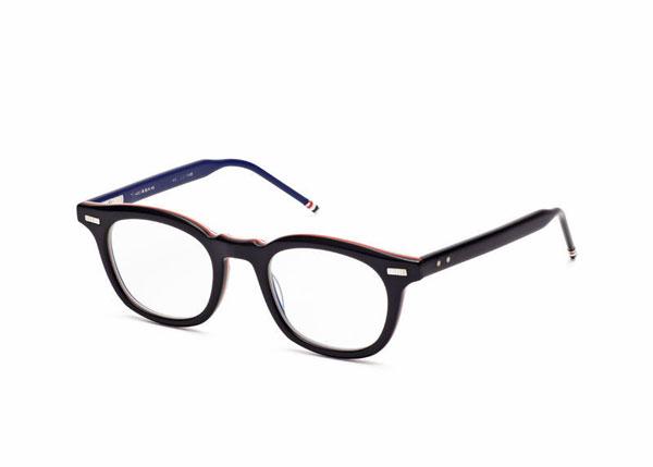 THOM BROWNE(トム・ブラウン)TB-403 MATTE BLACK-RWB 参考価格:47,000円(税抜)