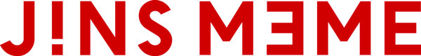 JINS MEME(ジンズ・ミーム)のロゴ。 【クリックして拡大】