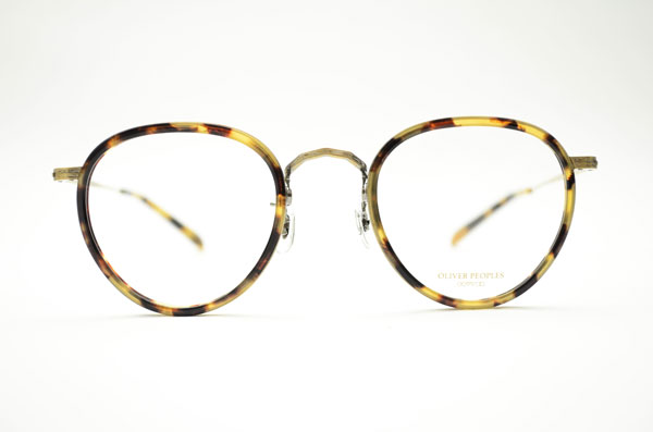 Oliver Peoples(オリバーピープルズ)MP-2 カラー:DTB。 image by Continuer 【クリックして拡大】