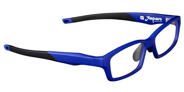 OWNDAYS(オンデーズ)「SAMURAI BLUE model(サムライ ブルー モデル)」第2弾。 2色目はブルーと黒との組み合わせ。 価格:8,980円(税別) 【クリックして拡大】