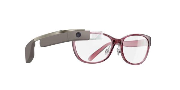 DVF | Made for Glass のメガネタイプ。 大人の女性が掛けると似合いそうなデザインがいい感じ。 【クリックして拡大】