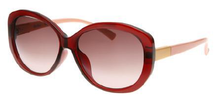 眼鏡市場「パーフェクトUVブロックサングラス」 セルフレームのレディスタイプ。 価格:6,500円(税抜) image by メガネトップ