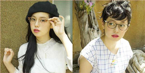 青柳文子のメガネコーデは、7月17日(木)より公開。