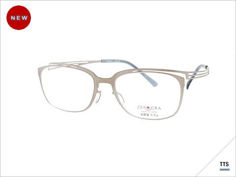 眼鏡市場 ZEROGRA(ゼログラ)ZEG-024 カラー:TTS(写真)・DGRM 価格:24,000円(税抜、レンズ代込み)