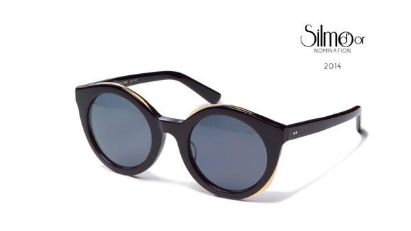 IRRESISTOR「POP STAR」BLACK GOLD | SMOKE BLACK LENS 参考価格:334米ドル(約38,000円) 【クリックして拡大】