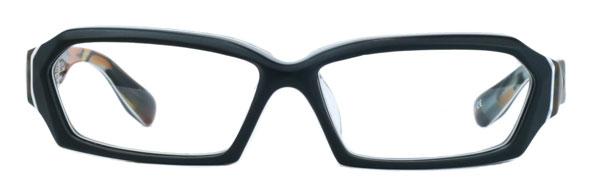 Qbrick(キューブリック) BTY5805 カラー:Masked Camo Blue ボリューム感あふれるフレームにペンタゴンシェイプがよく似合う。 image by Qbrick 【クリックまたはタップで拡大】