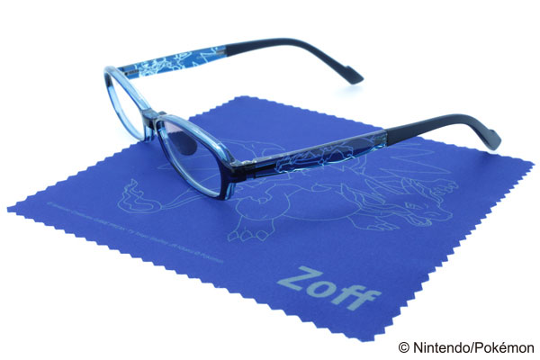 Zoff PC ULTRA PACK(ゾフ・ピーシー・ウルトラ・パック)ポケモンモデル「メガリザードンX デザイン」【XSサイズ】 image by インターメスティック