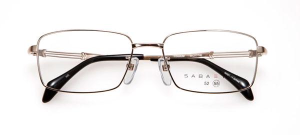 眼鏡市場 SABATRA(サバトラ)SBT-003-WG(ホワイトシルバー) 価格:18,000円(税抜、レンズ代込み) image by メガネトップ
