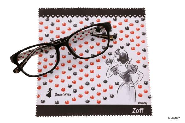 Disney Collection created by Zoff (ディズニーコレクション クリエイティッド バイ ゾフ)「白雪姫」 ドット柄のように並んだリンゴがかわいい。 image by インターメスティック