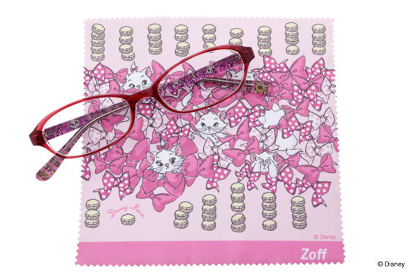 Disney Collection created by Zoff (ディズニーコレクション クリエイティッド バイ ゾフ)「ディズニーマリー」 マリーみたいにかわいくメガネを掛けたいひとに。 image by インターメスティック