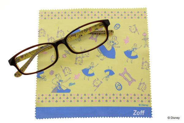 Disney Collection created by Zoff (ディズニーコレクション クリエイティッド バイ ゾフ)「アリス」 普段使いのメガネはもちろん、PCメガネにするのもアリ。 image by インターメスティック