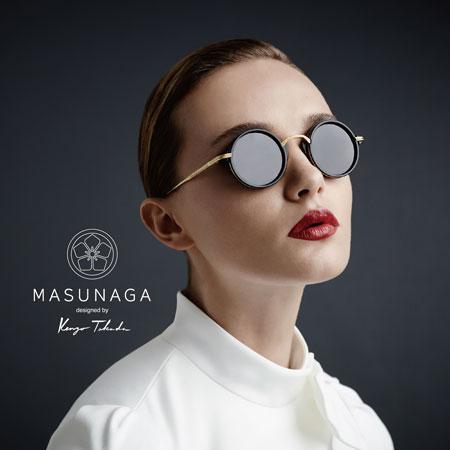 MASUNAGA designed by Kenzo Takada image by 増永眼鏡 【拡大】
