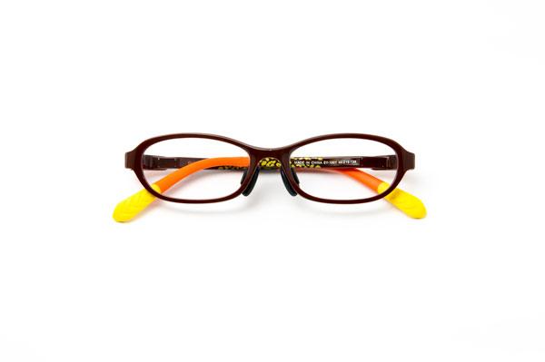 メガネスーパー 瞬足 SY-1001 カラー:ブラウン(写真)・レッド・グレー 通常価格:17,000円(税別)
