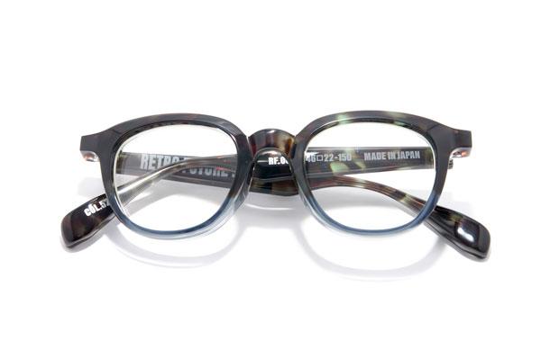 RETRO FUTURE BY 900(レトロ フューチャー バイ キュウヒャク) RF-005 カラー523 参考価格:35,000円(税抜) ツートンカラーがシブくてカッコいい。レンズシェイプも絶妙。