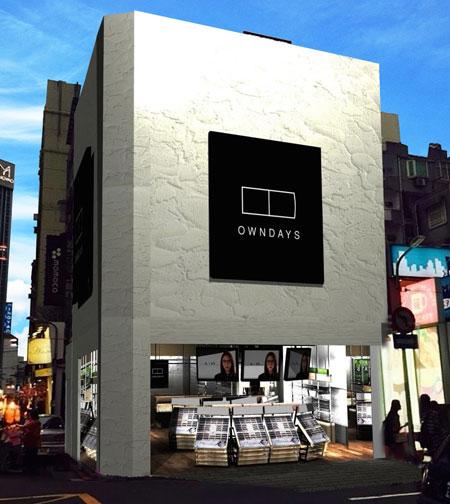 オンデーズ忠孝敦化店は、台湾を代表するファッションエリア台北市東区の忠孝敦化駅近くにオープン。