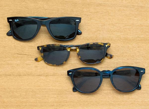 EROTICA Sunglass 商品の一例。Ray-Ban(レイバン)をはじめ、最旬のサングラスが充実。