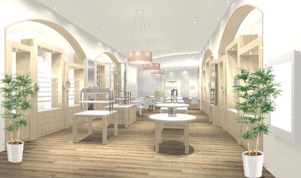 和真 新宿レディース店は、空間作りから商品セレクトまで、全て女性が手がけている。