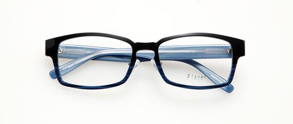 眼鏡市場 P'layer(プレイヤー)PLY-201-BLUH  ※松田聖子着用モデル 価格:18,000円(税抜、レンズ代金込み)