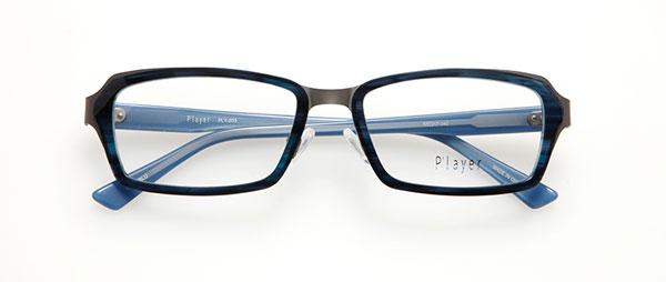 眼鏡市場 P'layer(プレイヤー)PLY-203-BLU  ※松田聖子着用モデル 価格:18,000円(税抜、レンズ代金込み)