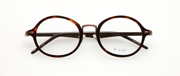 眼鏡市場 P'layer(プレイヤー)PLY-204-DMBR  ※松田聖子着用モデル 価格:18,000円(税抜、レンズ代金込み)