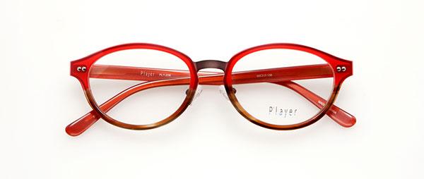 眼鏡市場 P'layer(プレイヤー)PLY-206-BRRE  ※松田聖子着用モデル 価格:18,000円(税抜、レンズ代金込み)