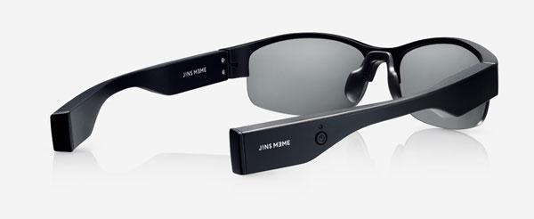 JINS MEME MTは、6軸センサーのみを搭載し、カラダの動きを検知することに特化。
