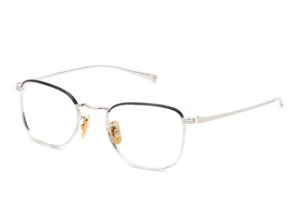 OG×OLIVER GOLDSMITH(オージー バイ オリバー ゴールドスミス) Carpenter Col.022(シャイニーシルバー/ネイビー) 価格:34,000円(税別)
