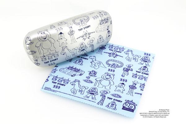 Disney Collection created by Zoff (ディズニーコレクション クリエイティッド バイ ゾフ) 第4弾 Happiness Line(ハピネスライン)「トイ・ストーリー」専用メガネケース・メガネ拭き image by インターメスティック