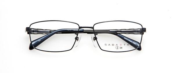 眼鏡市場 SABATRA(サバトラ)SBT-017 カラーBLU(ブルー) 価格:19,440円(税込、レンズ代金込み)