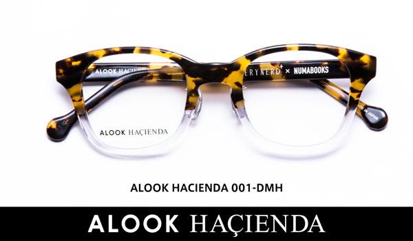 ALOOK HACIENDA(アルク ハシエンダ)001 カラー:DMH 価格:19,440円(税込、屈折率1.55レンズ付き) image by メガネトップ