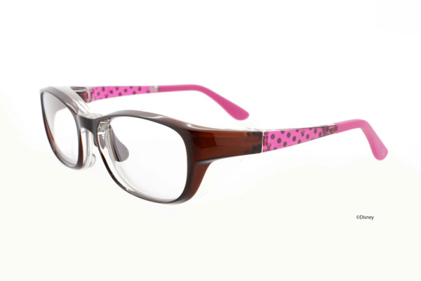 Zoff(ゾフ)AIR VISOR(エア・バイザー)ディズニーモデルは、専用ケースがセットで3,000円(税別)。度付きレンズにも対応するのが、普段からメガネを掛けているひとにはうれしい。 image by インターメスティック