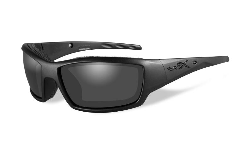 WILEY X(ワイリーエックス)「WX TIDE 01」 使用レンズ:SELENITE™ - Smoke Grey 可視光透過率:20% 参考価格:14,500円(税別)