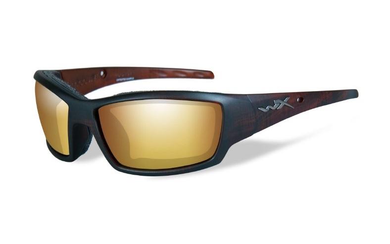 WILEY X(ワイリーエックス)「WX TIDE 04 使用レンズ:SELENITE™ - FILTER8™ Venice Gold Mirror 可視光透過率:12% / 偏光度99% 参考価格:22,000円(税別)