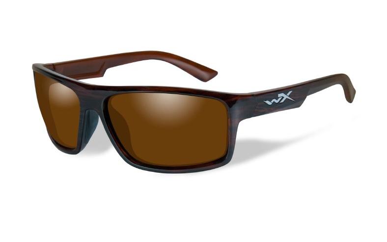 WILEY X(ワイリーエックス)「WX PEAK 04」 使用レンズ:SELENITE™ - FILTER8™ Amber 可視光透過率:14% / 偏光度99% 参考価格:21,000円(税別)