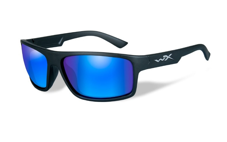 WILEY X(ワイリーエックス)「WX PEAK 09」 使用レンズ:SELENITE™ - FILTER8™ Blue Mirror 可視光透過率:12% / 偏光度99% 参考価格:21,000円(税別)
