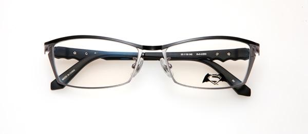 眼鏡市場「バットマン vs スーパーマン コラボレーションフレーム」 バットマン&スーパーマン モデル BvS-03BS カラーBK image by 眼鏡市場