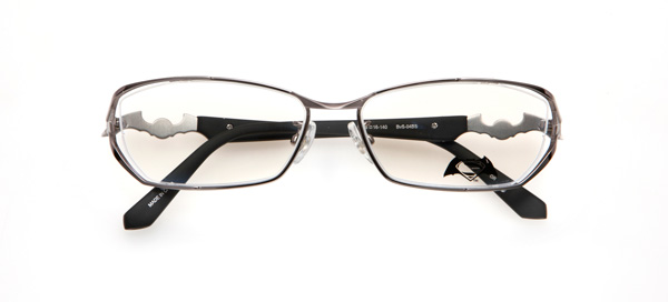 眼鏡市場「バットマン vs スーパーマン コラボレーションフレーム」 バットマン&スーパーマン モデル BvS-04BS カラーGR image by 眼鏡市場