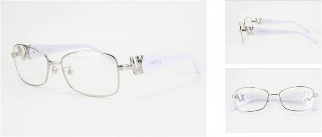 GACKT × VARTIX EYEWEAR VS-N-01メタルサングラス 価格:38,000円(税込) カラー:シルバー/ホワイト/クリア image by ビジョンメガネ