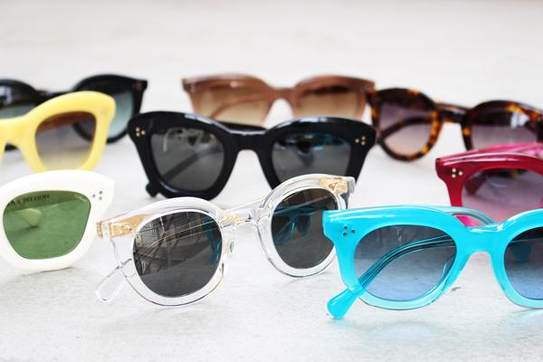 MAX PITTION(マックス ピティオン)の代表作に Continuer(コンティニュエ)特注オーダーのレンズを入れたサングラスが登場。